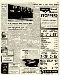 Ada Evening News, August 27, 1962, Page 3