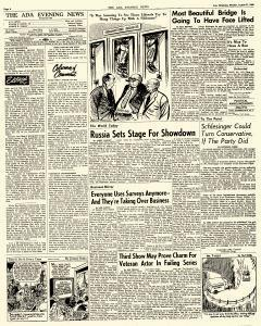 Ada Evening News, August 27, 1962, Page 4