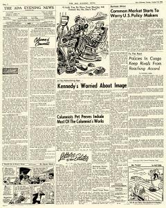 Ada Evening News, October 16, 1962, Page 4