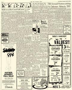 Ada Evening News, October 24, 1962, Page 4