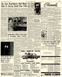 Ada Evening News, October 30, 1962, Page 3