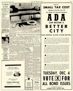 Ada Evening News, December 03, 1962, Page 7