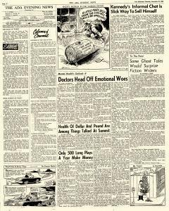 Ada Evening News, December 20, 1962, Page 6
