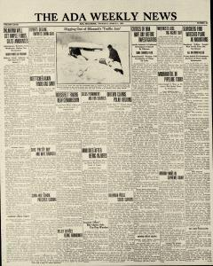 Ada Weekly News newspaper archives
