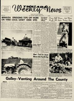 Ada Weekly News, April 28, 1960, Page 1
