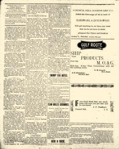 Council Hill Eagle, January 11, 1906, Page 4