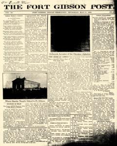 Fort Gibson Post, May 11, 1904, Page 1