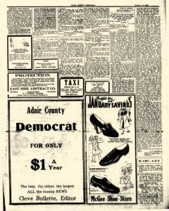 Adair County Democrat, January 14, 1938, Page 3