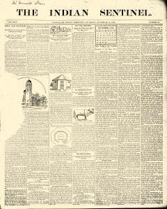 Indian Sentinel, November 17, 1898, Page 1