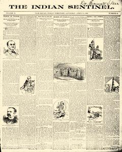 Indian Sentinel, April 14, 1900, Page 1