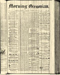 Morning Oregonian, August 24, 1861, Page 1