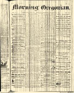 Morning Oregonian, August 26, 1861, Page 1