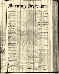 Morning Oregonian, August 30, 1861, Page 1
