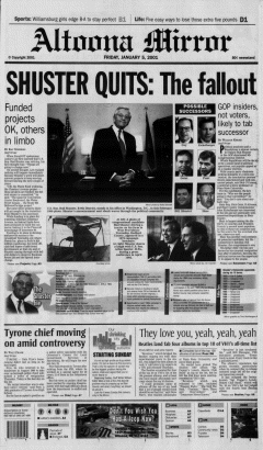 Altoona Mirror, January 05, 2001, Page 2