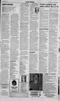Altoona Mirror, April 06, 2001, Page 22