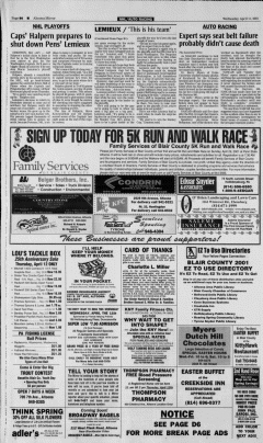 Altoona Mirror, April 11, 2001, Page 36