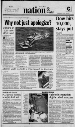 Altoona Mirror, April 11, 2001, Page 38