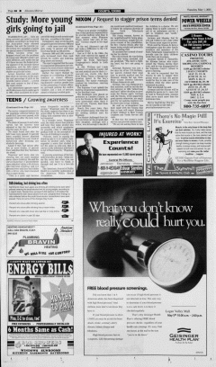 Altoona Mirror, May 01, 2001, Page 15