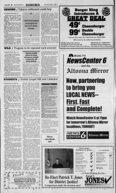 Altoona Mirror, May 07, 2001, Page 8