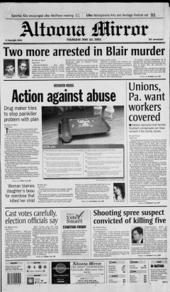 Altoona Mirror, May 10, 2001, Page 2