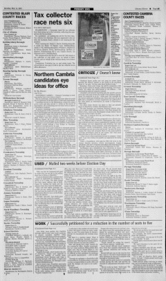 Altoona Mirror, May 14, 2001, Page 10