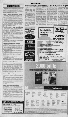Altoona Mirror, May 16, 2001, Page 6