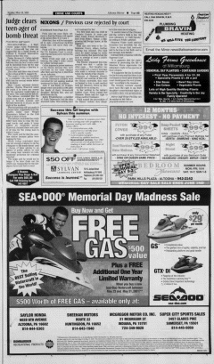 Altoona Mirror, May 25, 2001, Page 3