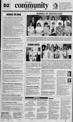 Altoona Mirror, June 02, 2001, Page 63