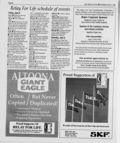 Altoona Mirror, June 02, 2001, Page 78