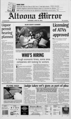 Altoona Mirror, June 30, 2001, Page 2