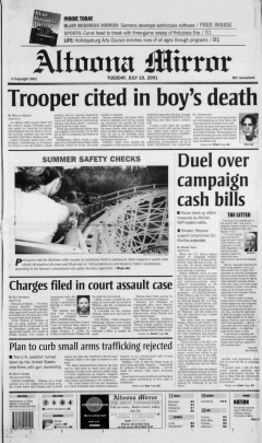 Altoona Mirror, July 10, 2001, Page 2