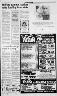Altoona Mirror, July 10, 2001, Page 16