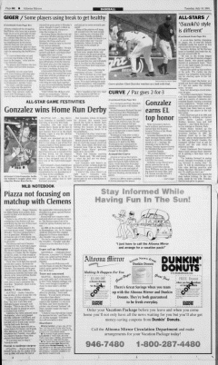 Altoona Mirror, July 10, 2001, Page 20