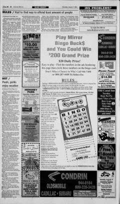 Altoona Mirror, August 07, 2001, Page 12