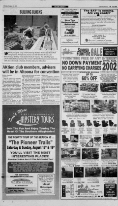 Altoona Mirror, August 10, 2001, Page 3