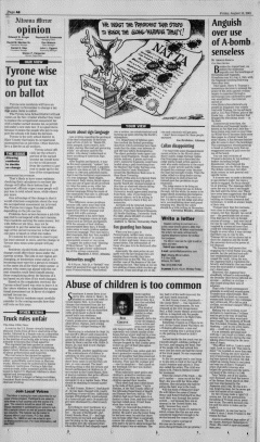 Altoona Mirror, August 10, 2001, Page 16