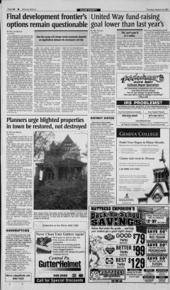 Altoona Mirror, August 14, 2001, Page 8