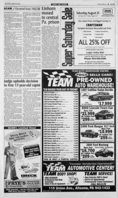 Altoona Mirror, August 23, 2001, Page 14