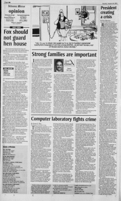 Altoona Mirror, August 26, 2001, Page 16