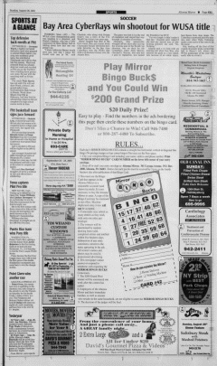 Altoona Mirror, August 26, 2001, Page 58