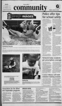 Altoona Mirror, August 26, 2001, Page 130