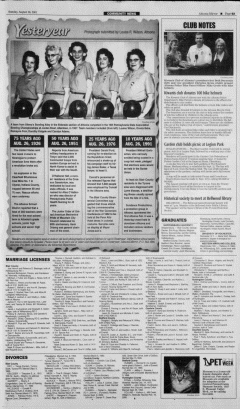 Altoona Mirror, August 26, 2001, Page 134
