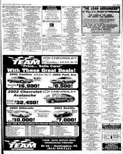 Altoona Mirror, August 26, 2001, Page 121