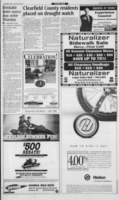 Altoona Mirror, August 29, 2001, Page 8