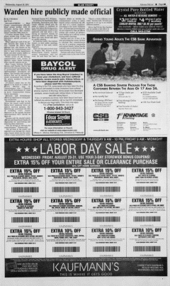 Altoona Mirror, August 29, 2001, Page 10