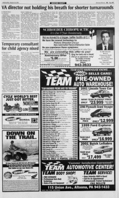 Altoona Mirror, August 29, 2001, Page 14