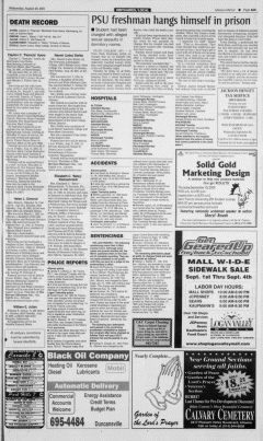 Altoona Mirror, August 29, 2001, Page 26