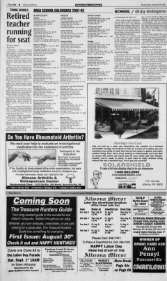 Altoona Mirror, August 29, 2001, Page 28