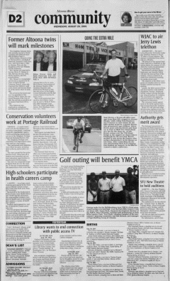 Altoona Mirror, August 29, 2001, Page 70