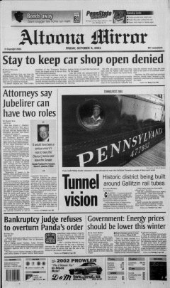 Altoona Mirror, October 05, 2001, Page 2